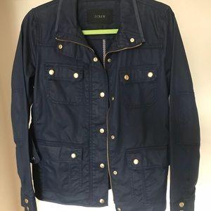 Navy and Gold Field Jacket/Rain Jacket